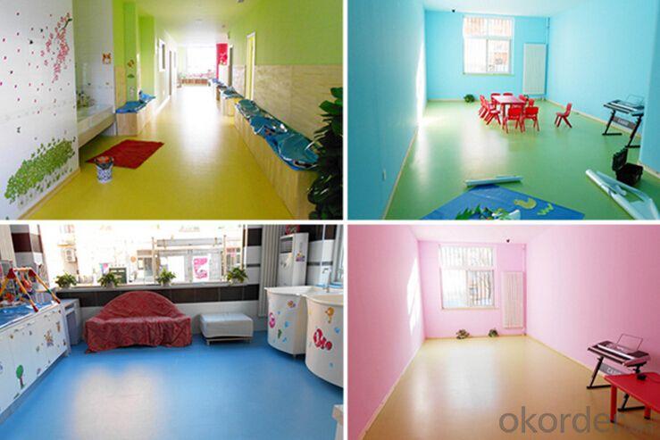 pvc interlocking floor tiles 4mm and 5mm pvc flooring for children