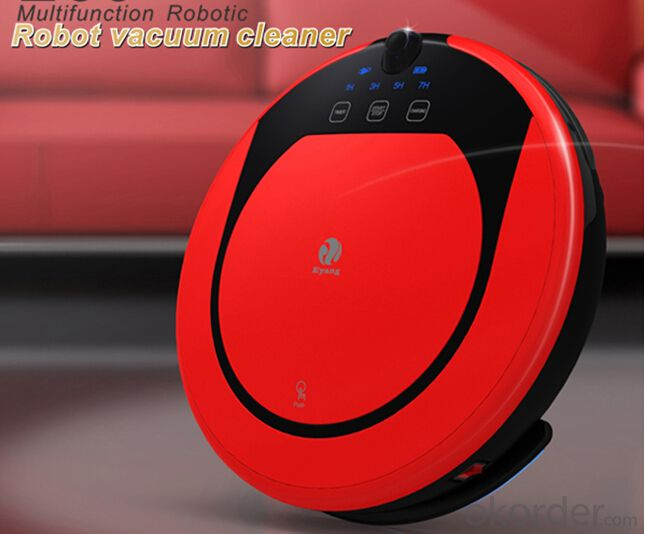 Intelligent Auto Charging Robotic Vacuum Cleaner with Remote Controller