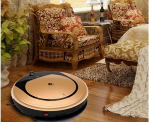 Intelligent Robot Vacuum Cleaner with CE/RoHS Approved