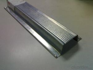 Drywall Steel Profile for Stud Track Partition Decoration