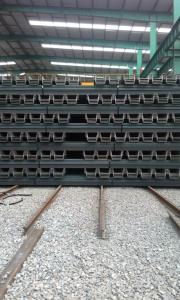 U Steel Sheet Pile/ 500*200*24.3mm/ Export High-Quality Steel Sheet Pile 2015
