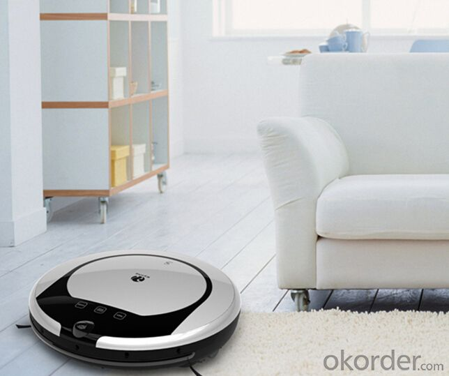 Robot Vacuum Cleaner with Automatic Charging