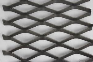 Low carbon steel expanded metal mesh (manufacturer )