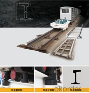 SMJ series shaped track rail transport system