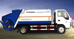 Garbage truck, compressed garbage truck, compactor garbage truck