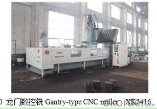 Gantry-type CNC miller,machine center,good