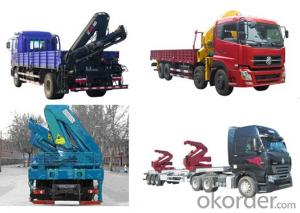 Truck-mounted Crane for construction and buliding