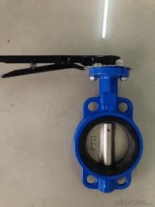 The handle Wafer Butterfly Valve DN25-DN300