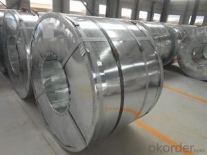 Hot Dip Galvanized Steel Coil 0.17 * 750mm
