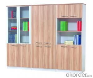 MDF Office Table Hight Quality Wood Melamine/Glass CN8706B