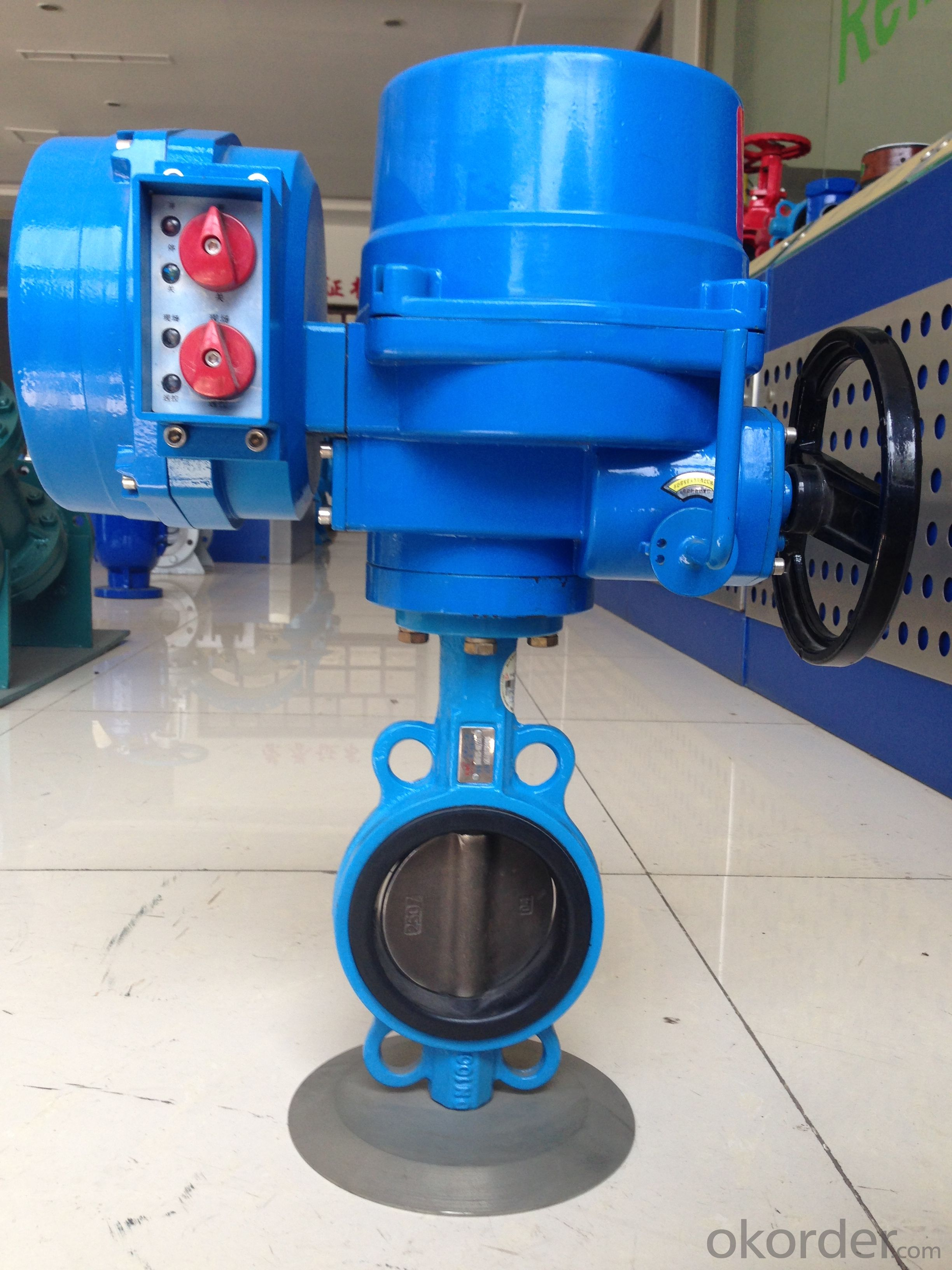 Electric Wafer Butterfly Valve DN25-DN300
