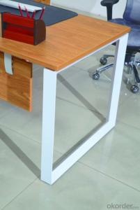 High Quality Wood MDF/Melamine/Glass Office Table/Desk CN3023B
