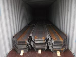 U Steel Sheet Pile/ 400*100*10.5mm/ Export Steel Sheet Pile with High Quality