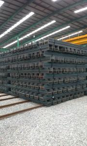 U Steel Sheet Pile/ 400*100*8-10.5mm/ Export Steel Sheet Pile  as Your Request