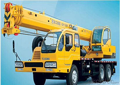QY16D TRUCK CRANE, HIGH PERFORMANCE AND QUALITY