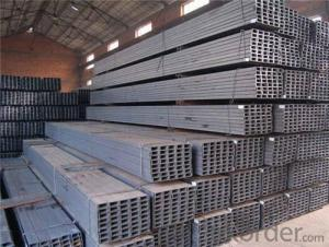 Hot Rolled Mild Carbon Structural Steel U-Channel