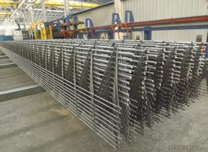 rebar truss for railway sleeper and beam or floor