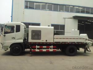 LHBC80 High output diesel engine truck mounted concrete pum