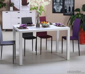 Dining Chair and Table Modern and Fashion