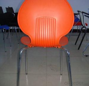 Plastic Dinner Chair for Outdoor or Indoor Use