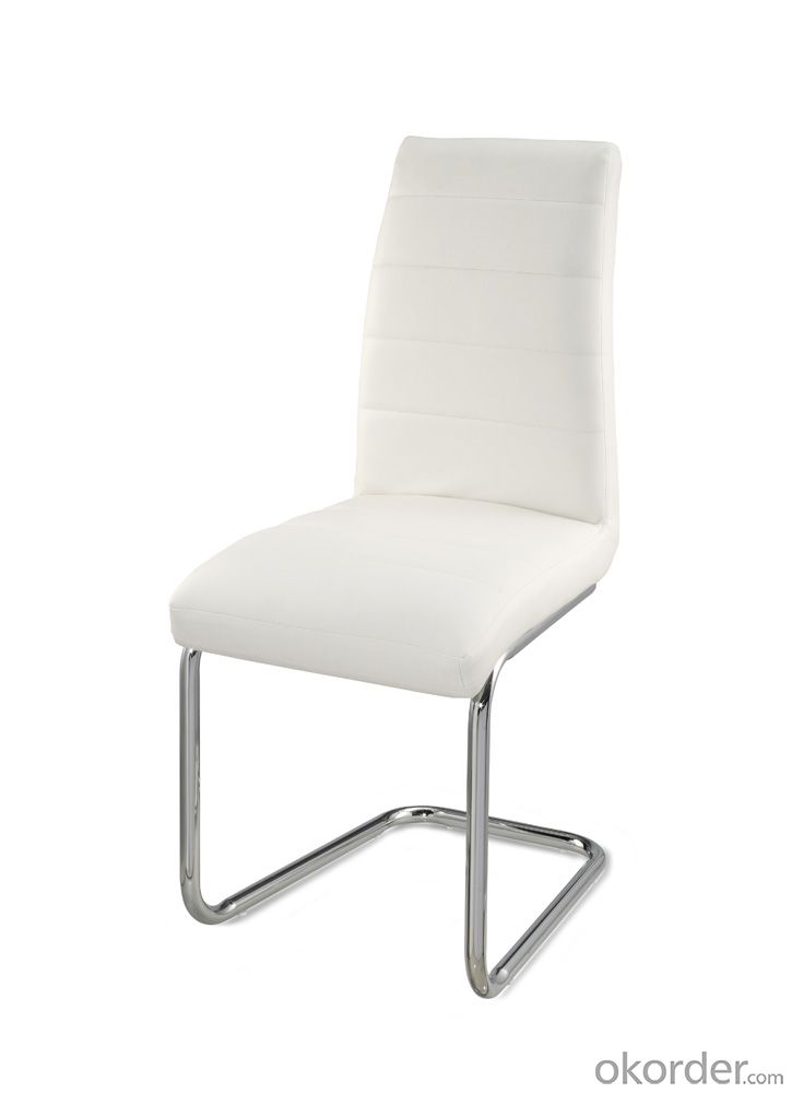 Dinning Chair with Leather Seat for Indoor Use