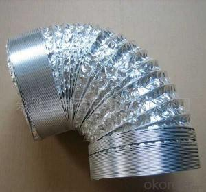 Flexible Aluminum ventilation hose aluminum foil air duct expandable aluminium ducting of CNBM