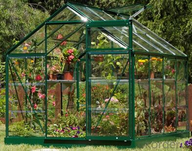 Commercial polycarbonate greenhouse for flower