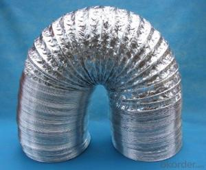 Semi-Rigid Aluminium Flexible Duct Pipe For Air Conditioner System