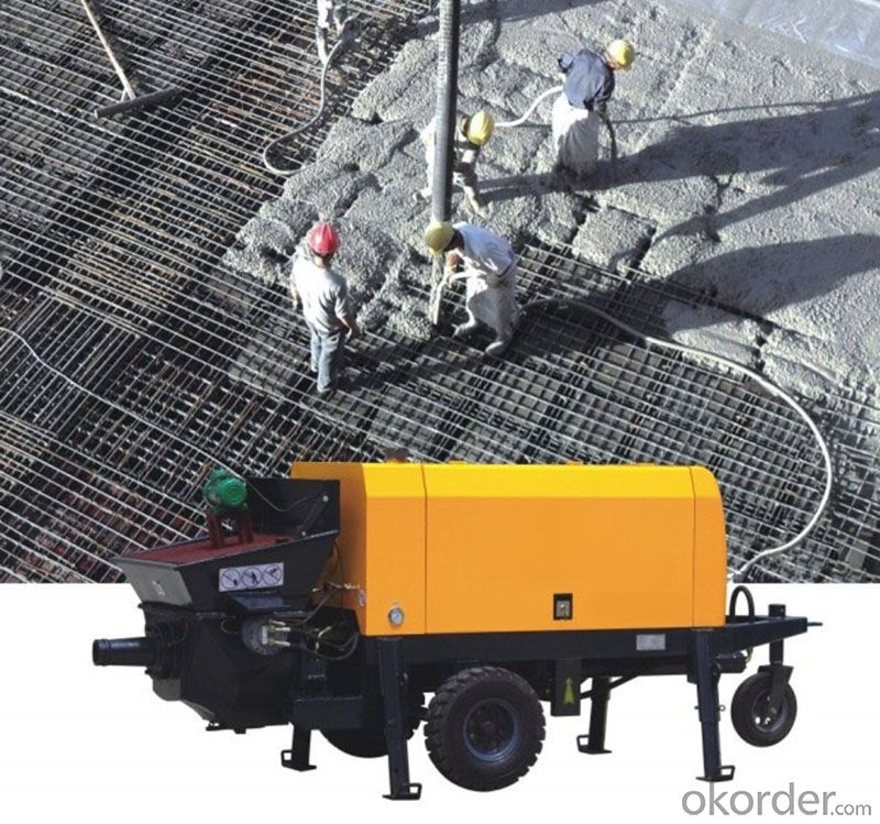 construction small Electric Concrete Pump for sale