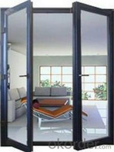 Aluminum Doors with New style and Double glaze Manufacturer