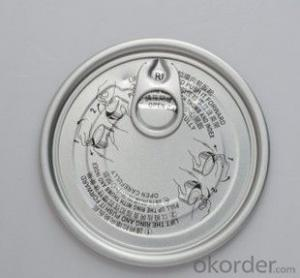 Easy Open End, Aluminum Dry Food Can Lid 401#