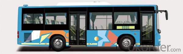 City Bus Used in City with High Quality                          DD6922S04