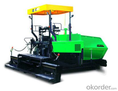 RP601L/RP701L is a tyre type paver featuring good maneuverability