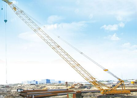 QUY80 crawler crane, more excellent performance