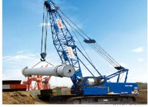 CRAWLER CRANE  QUY55,more excellent perfermance