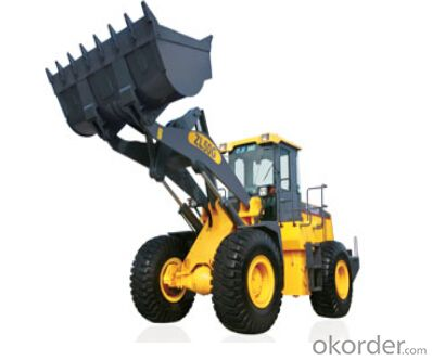 wheel loader ZL50G Heavy load for the rocky condition