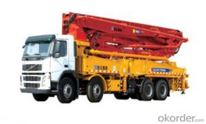 HB48-B-C-D concrete pump is the medium size