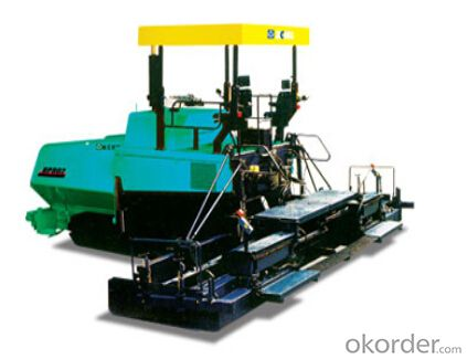 RP602/RP802 multi-functional paver can be applied to the paving of basic stabilized material