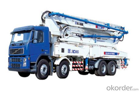HB44 concrete pump, reliable and excellent