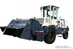 XLZ250 pavement cold recycling machine is a kind of multifunctional road maintenance equipment