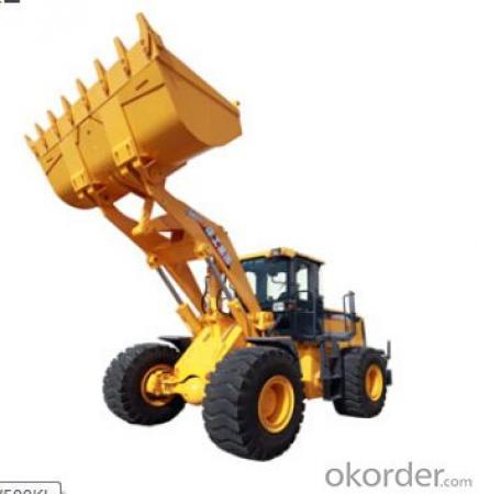 wheel loader LW500KL,Excellent performance