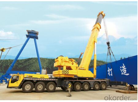 QAY500 all terrain crane is equipped with new spacious luxury cab