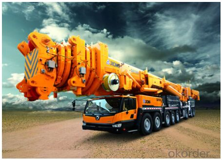 QAY800 adopts 7-segment oval boom, the length is 84m