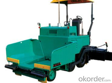 RP451L paver is the first full hydraulic compact type tyre asphalt concrete paver