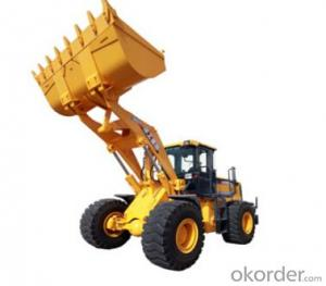 wheel loader LW500KL,Heavy load for the rocky condition