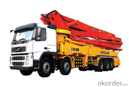 HB56 concrete pump ,The placing height :55.7m