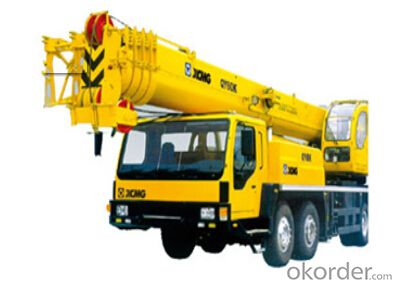 TRUCK CRANE QY60K, the new hydraulic motor with big torque starting point