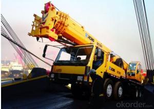 Truck crane QY35K5,Hydraulic pipeline,Compact boom head