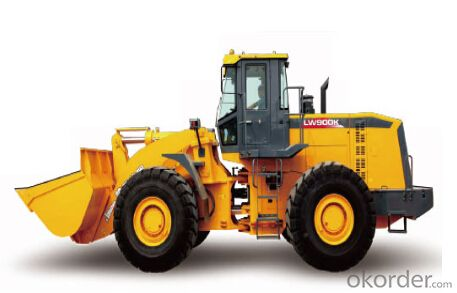 wheel loader LW900K,High productivity and low fuel consumption