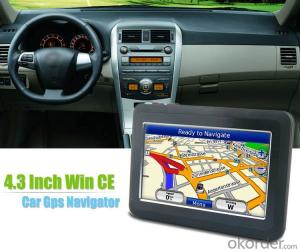 4.3 inch GPS Navigation with Windows CE 6.0 Support FM/ Bluetooth/ AVIN/ ISDB-T
